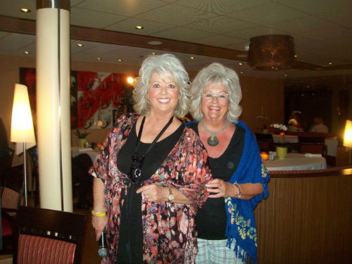 Paula Deen and Barbra Haper